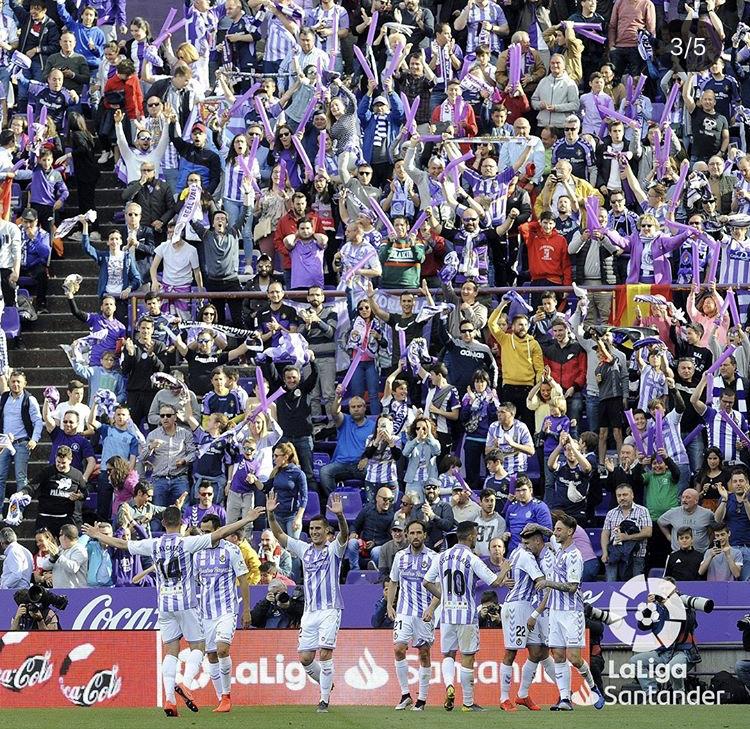 Sin aficionados otra temporada en el José Zorrilla