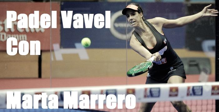 """Marta Marrero:""""Me veo con Alejandra hasta el final de mi carrera"""""""