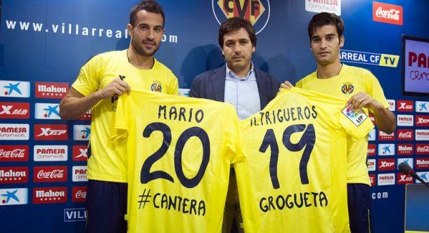 Mario y Trigueros renuevan hasta 2019