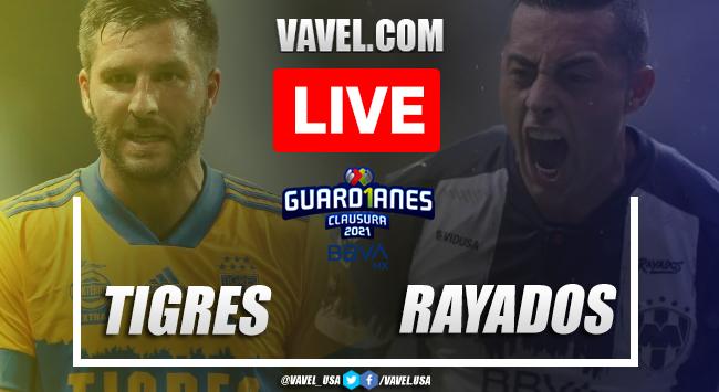 Goals and highlights: Tigres 2-1 Rayados Monterrey in 2O21 Clasico Regio Liga MX