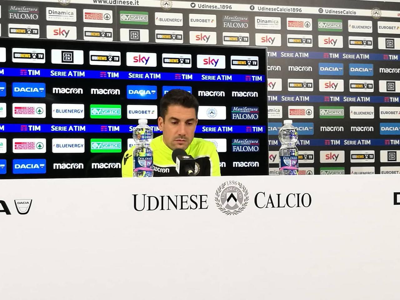 """Udinese - Velazquez: """"Il Napoli quest'anno ha più opzioni, ma saremo pronti"""""""