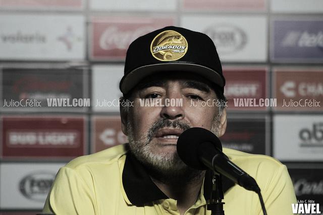 """Diego Armando Maradona: """"México y Argentina están en la Primera B"""""""