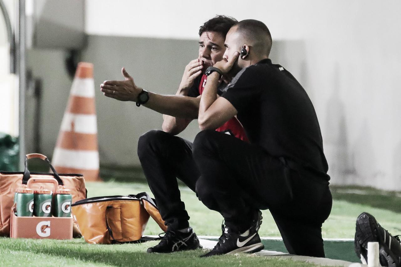 Após ser demitido, Thiago Larghi se despede e agradece Atlético-MG por oportunidade