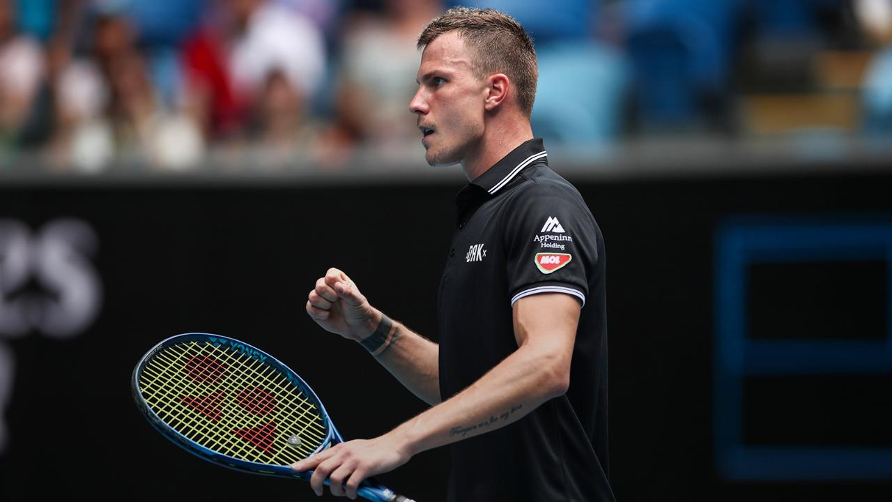 "2020 Australian Open: Marton Fucsovics says ""everything was working well"" in first round upset of Denis Shapovalov"