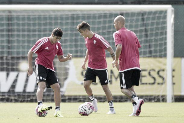 Vadalá tuvo su primer entrenamiento con Juventus
