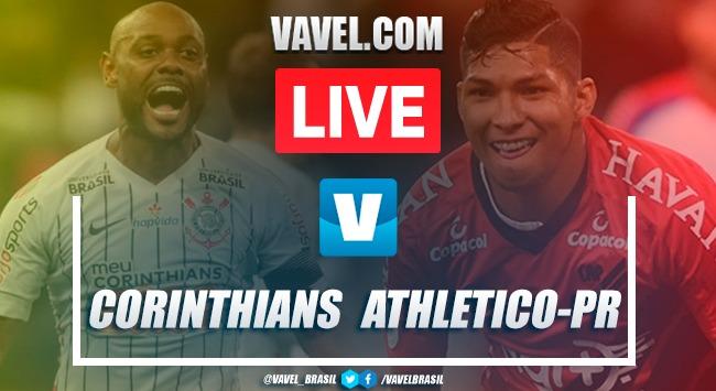 Corinthians x Athletico-PR AO VIVO hoje (2-2)