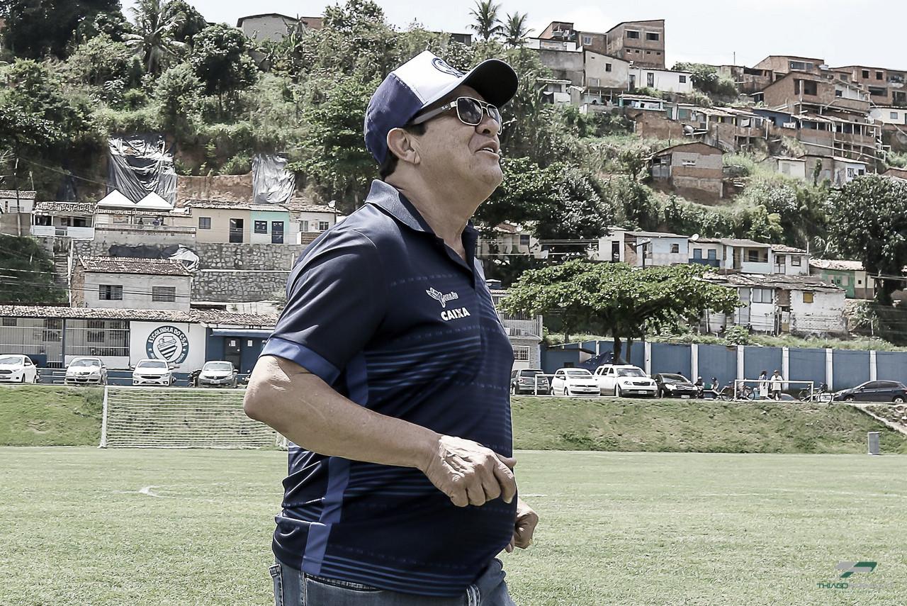 """Presidente do CSA, Rafael Tenório critica jogadores e promete dispensas: """"Time ridículo!"""""""