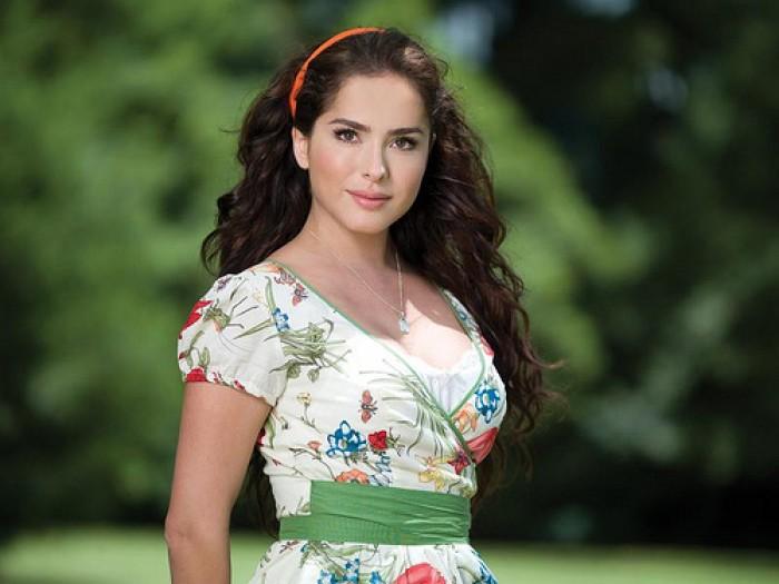 """Danna García: """"Yo aplaudo y admiro el cine colombiano"""""""
