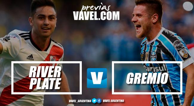 Previa River - Gremio: la primer semifinal de la Libertadores