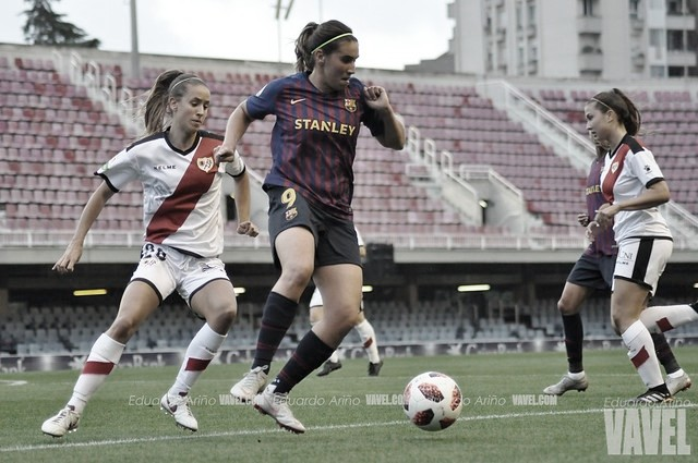 Resumen Rayo Vallecano vs. FC Barcelona Femenino (1-1)