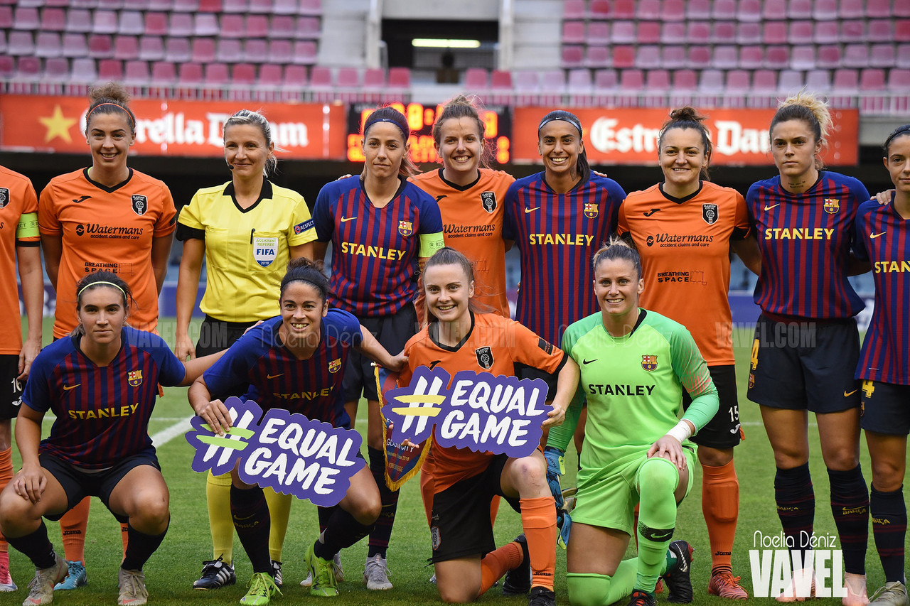 UEFA Women's Champions League: Glasgow City 0-3 Barcelona