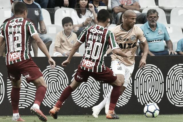 Em situações opostas, Santos recebe Fluminense na Vila Belmiro
