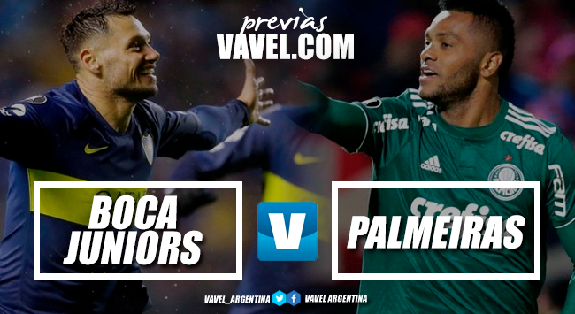 Previa Boca Juniors - Palmeiras: duelo de gigantes
