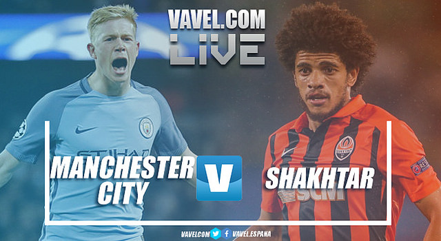 As It Happened: Manchester City Outclass Shakhtar Donetsk in Champions League Opener