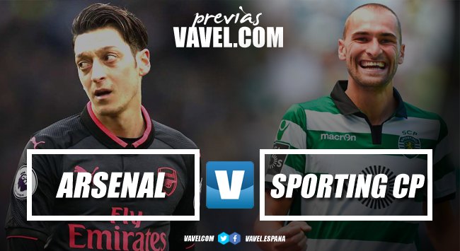 Resumen Arsenal vs Sporting de Portugal en Europa League 2018 (0-0)