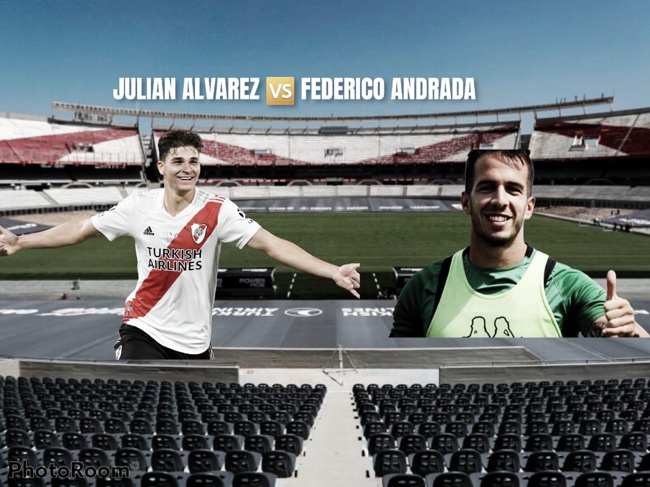 Julián Álvarez vs Federico Andrada: Duelo de surgidos en River