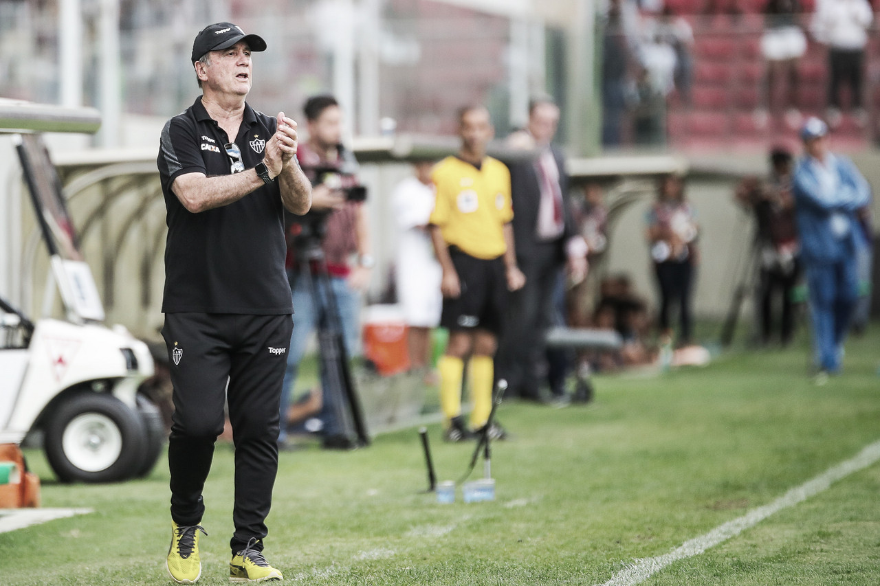 Levir Culpi aprova empate do Atlético-MG contra o Palmeiras: ''Jogamos de igual para igual''