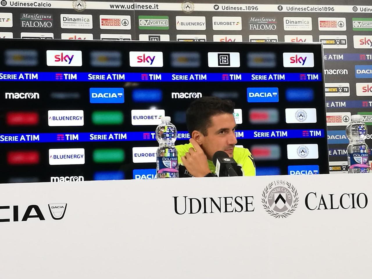"""Udinese - Velazquez: """"A Genova servono punti, come sempre, non mi sento in discussione"""""""