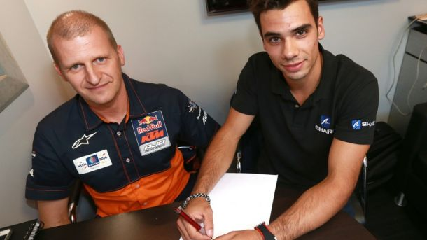 Miguel Oliveira con Red Bull KTM Ajo nel 2015