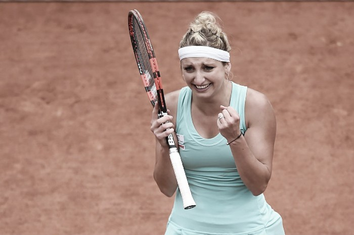 Timea Bacsinszky despacha Venus Williams e está nas quartas de final em Roland Garros