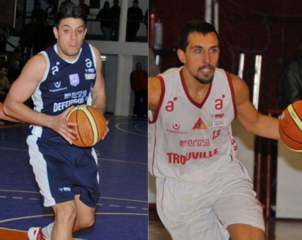 Sub 23: Defensor Sporting y Trouville a la final en Basketball