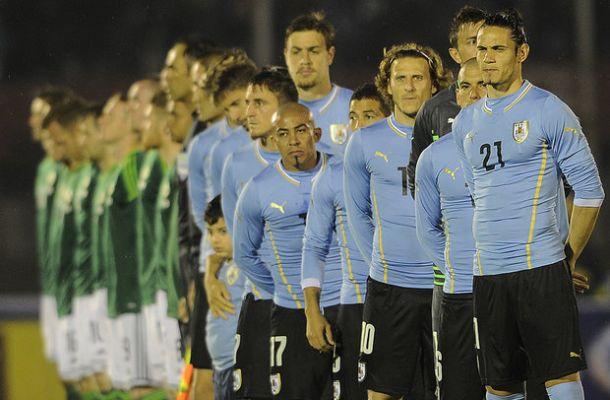 Resultado Uruguay - Eslovenia en amistoso 2014 (2-0)