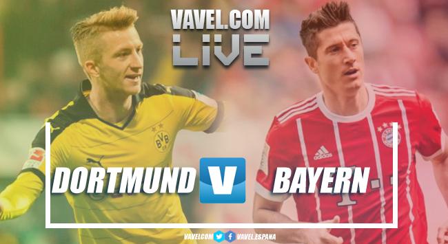 Resumen Borussia Dortmund 3-2 Bayern Múnich en Bundesliga 2018