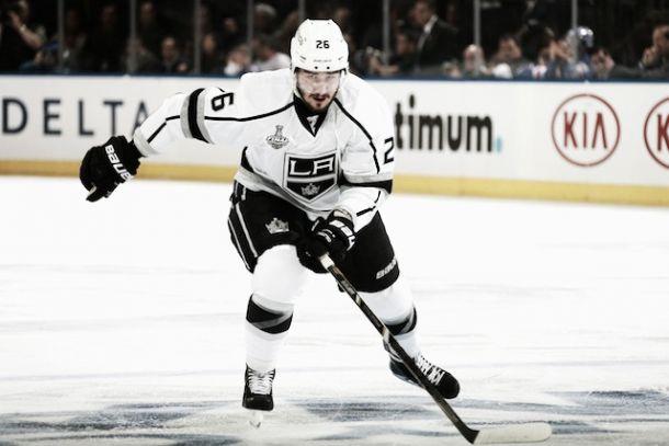 El defensa de LA Kings, Slava Voynov, suspendido indefinidamente