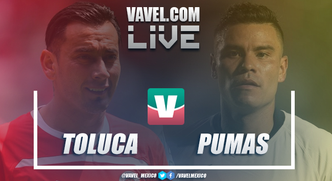 Resumen y goles Toluca 0-1 Pumas en Liga MX 2018