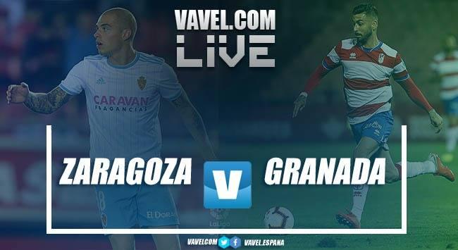 Resumen Real Zaragoza vs Granada CF en LaLiga 123 2018 (0-2)