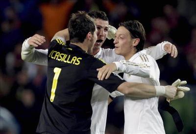 Casillas, Özil y Cristiano entre los 10 mejores