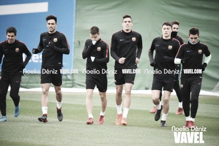 El Barça B vuelve al trabajo