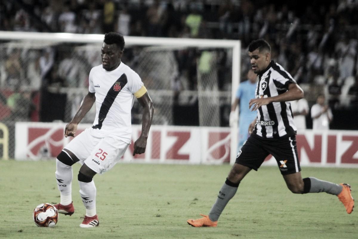 Zagueiros do Vasco lamentam eliminação em clássico na semifinal da Taça Rio