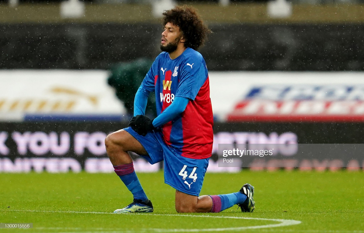 Jairo Riedewald signs a new contract extension with Crystal Palace