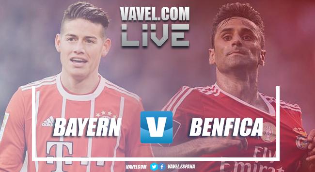 Resumen Bayern Múnich vs Benfica EN VIVO ahora en Champions League 2018