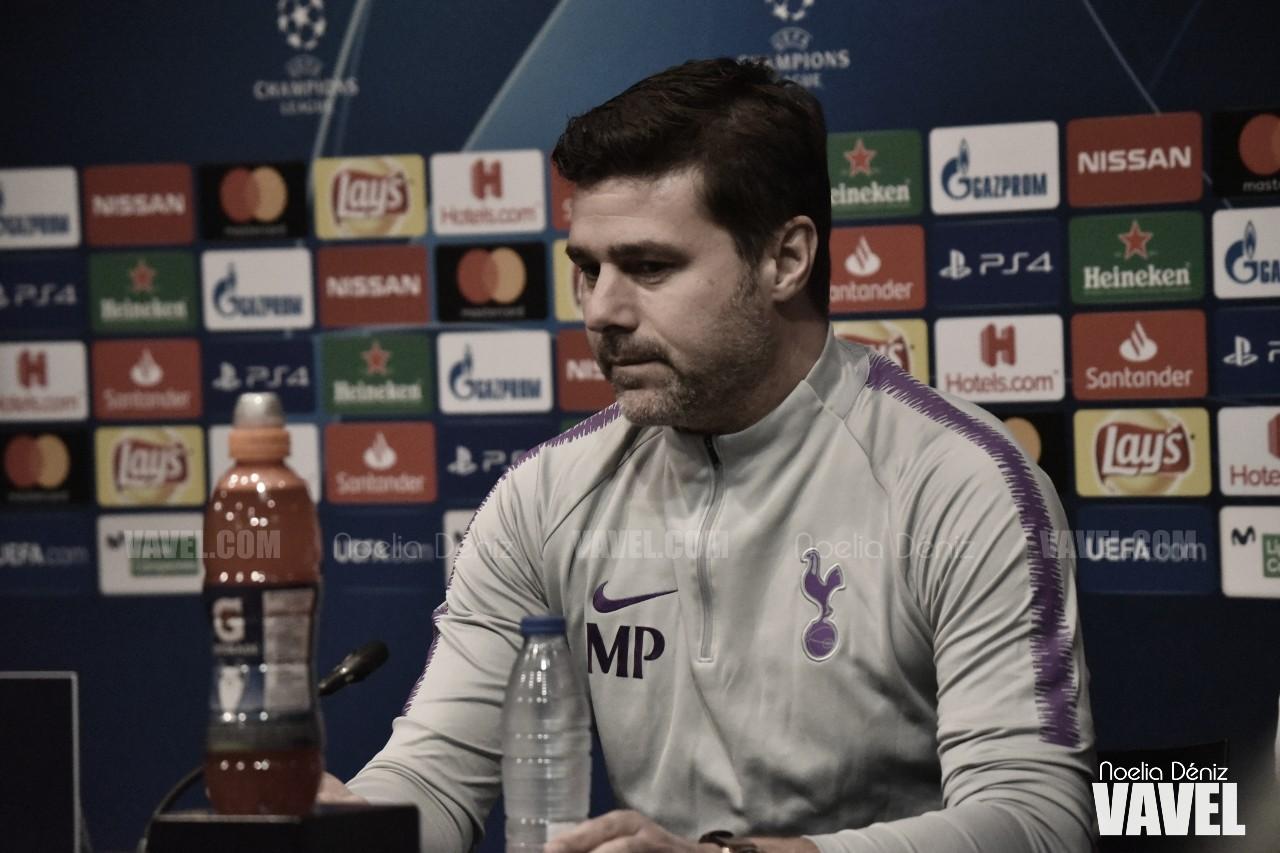 Mauricio Pochettino, durante una comparecencia mediática previa a la disputa de un encuentro frente al FC Barcelona | Fuente: Noelia Déniz, VAVEL Images