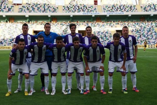 El Valladolid empata a cero en su segundo test de pretemporada contra el Beira Mar