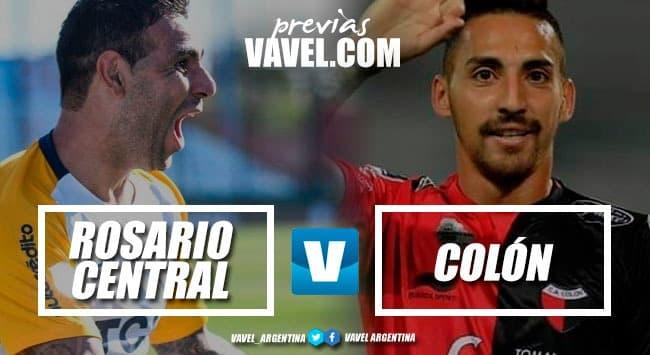 Previa: Rosario Central - Colón de Santa Fe: el Canalla tiene que empezar a sumar en el torneo