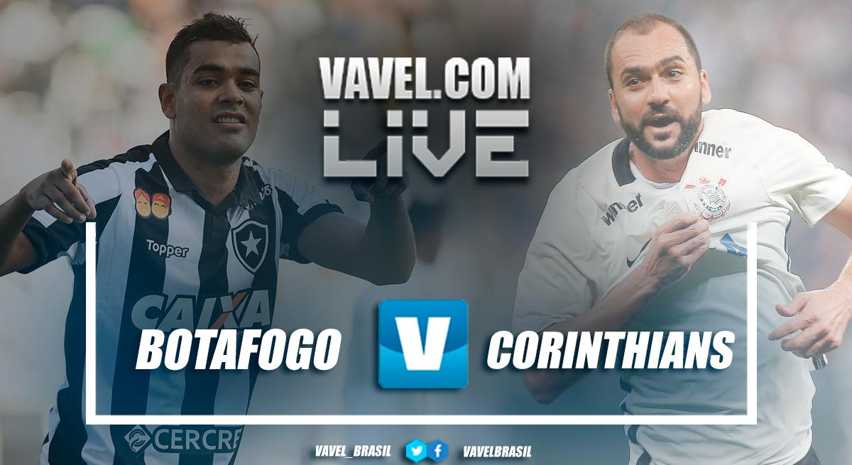Resultado Botafogo 1 x 0 Corinthians no Campeonato Brasileiro 2018