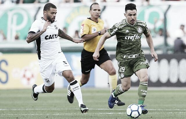 Pressionados, Ceará e Palmeiras se enfrentam pelo Brasileirão