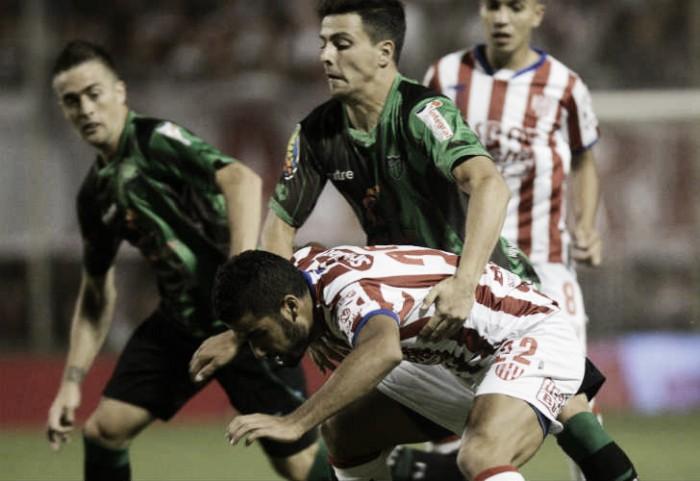 Unión - San Martín de San Juan: Empate que tuvo muchas ocasiones y pocos goles
