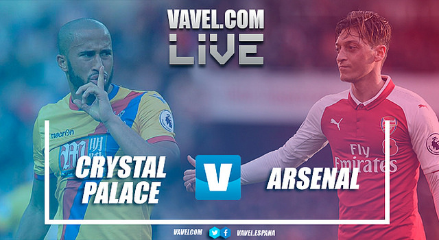 As it happened: Arsenal's winning run comes to an end in draw with Crystal Palace