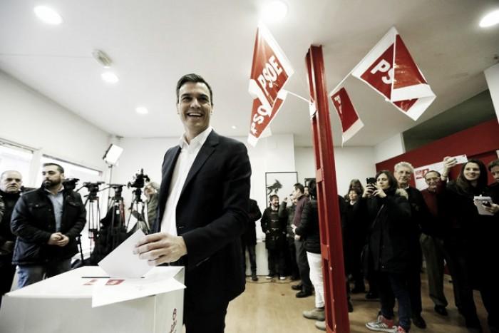 Los militantes del PSOE dicen sí al pacto con Ciudadanos
