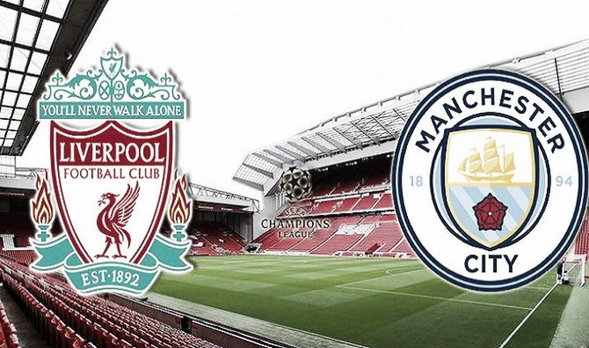 Ливерпуль - Манчестер Сити: объявлены стартовые составы