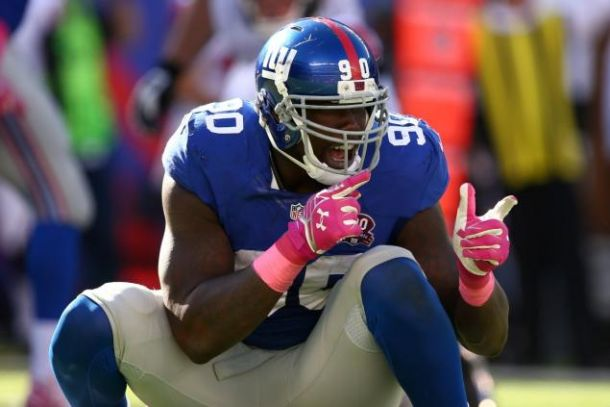 New York Giants Sign Jason Pierre-Paul To One-Year Deal