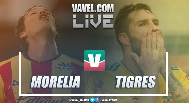 Resultado y goles del Morelia 0-2 Tigres en Liga MX 2018