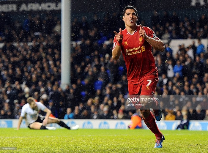 Classic Matches revisited: Tottenham Hotspur 0-5 Liverpool – Sizzling Suárez shatters shaken Spurs as Liverpool gunned for long-awaited title
