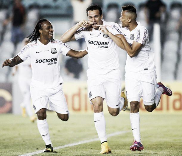 Com gol de Damião, Santos supera Bahia e chega à quarta vitória seguida