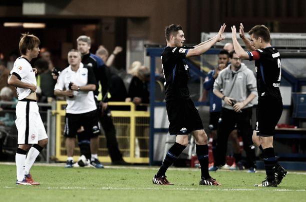El Paderborn le remonta al Eintracht en media hora