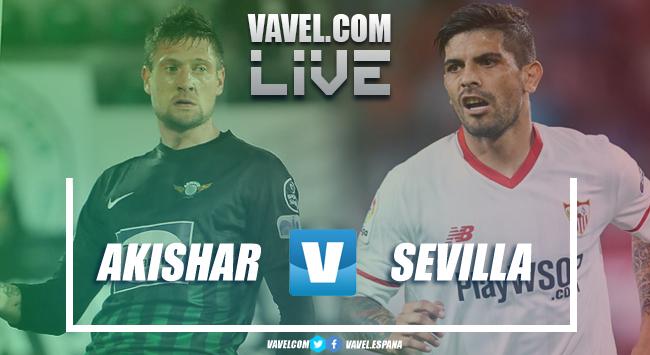 Resumen Akhisar vs Sevilla FC EN VIVO y en directo online en Europa League 2018 (2-3)